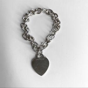 Return to Tiffany Vintage Heart Tag Charm Bracelet